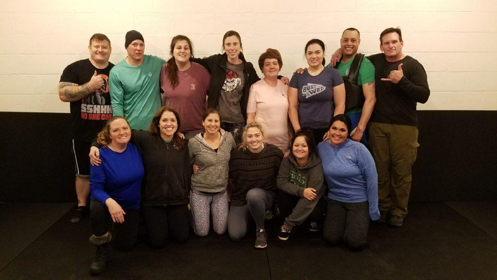 Group photo women's self-defense workshop | Tactical Pen Workshop - Women's Self-Defense Series | ©2018 Charlie Moore Training - www.charliemooretraining.com