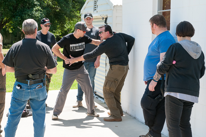 Charlie Moore Training adult combatives class     ©2018 Charlie Moore Training - www.charliemooretraining.com