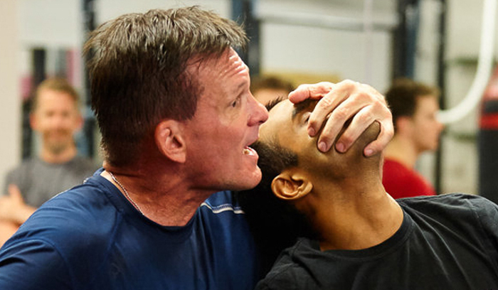 Charlie Moore Training adult combatives class | | ©2018 Charlie Moore Training - www.charliemooretraining.com