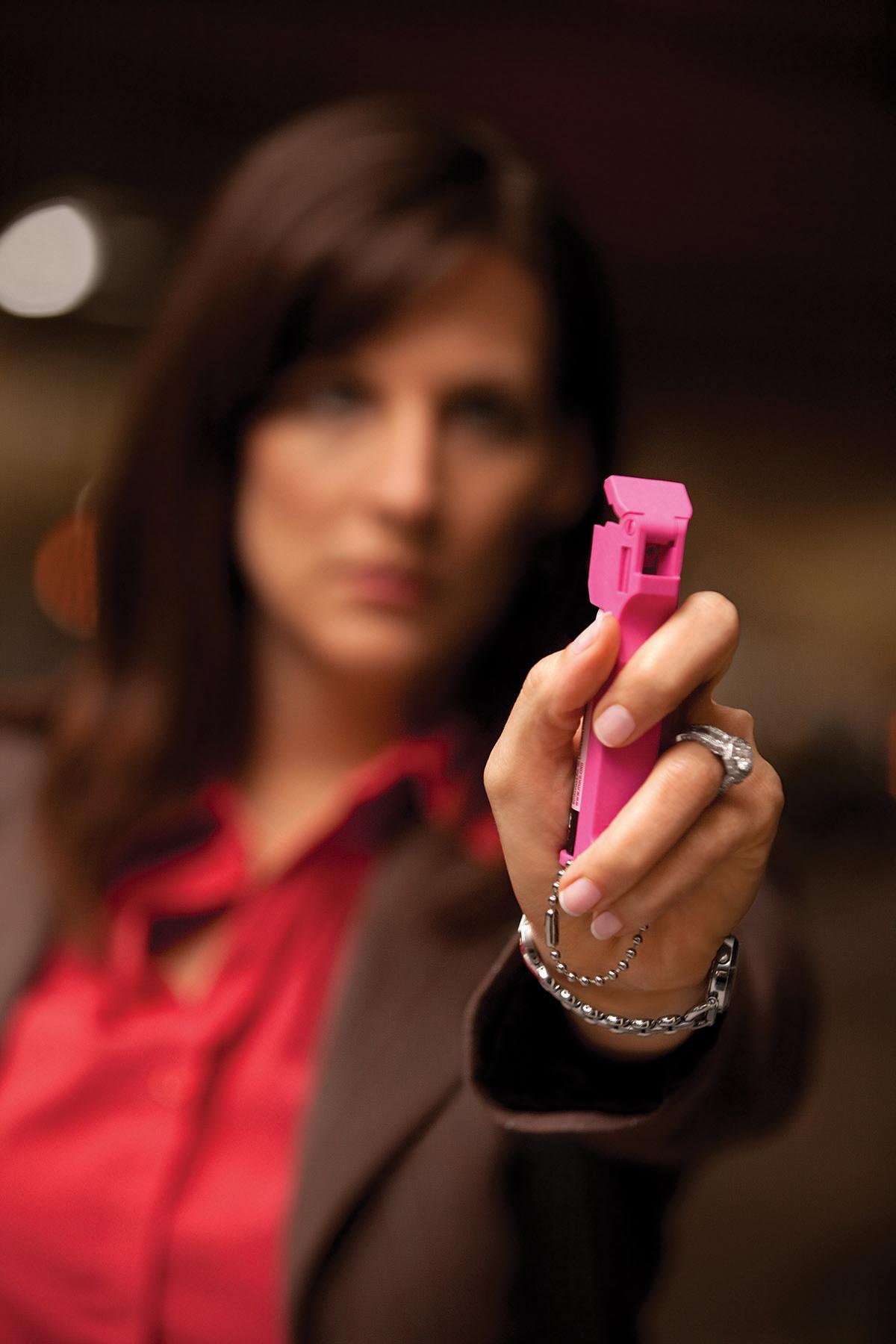 Pepper Spray Workshop - Women's Self-Defense Series | ©2018 Charlie Moore Training - www.charliemooretraining.com