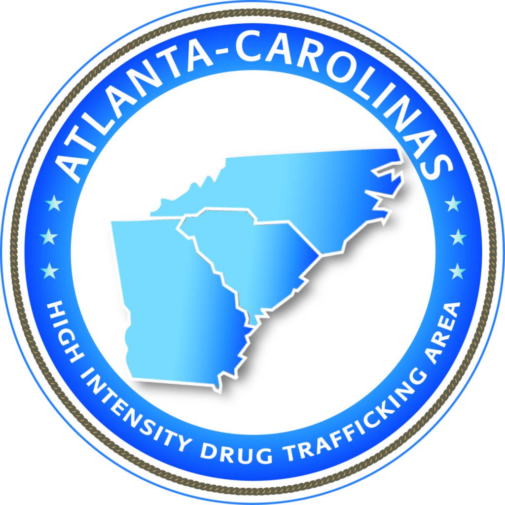 Atlanta-Carolinas High Intensity Drug Traficking Area HIDTA logo | ©2019 Charlie Moore Training - www.charliemooretraining.com