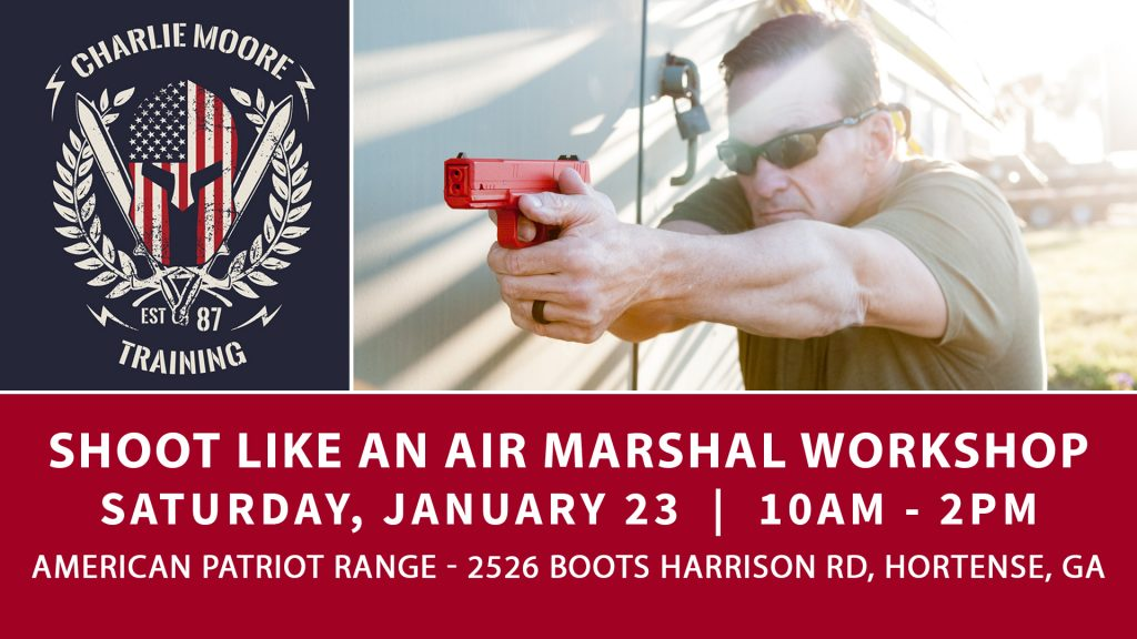 Shoot Like An Air Marshal in Hortense, GA | Charlie Moore Training